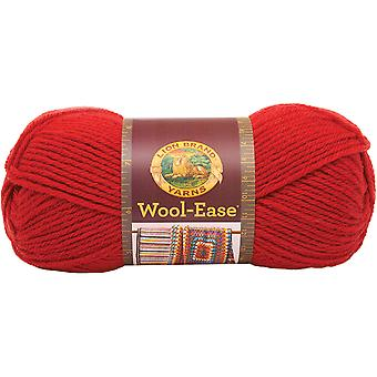 Wool-Ease Yarn -Ranch Red