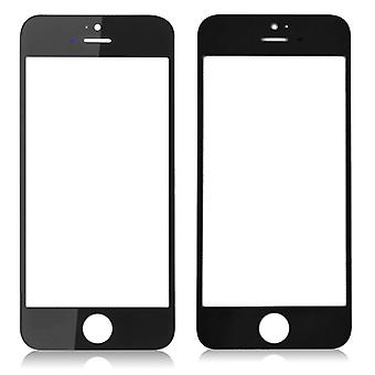 For iPhone 5s - iPhone SE - LCD Glass - Black | iParts4u