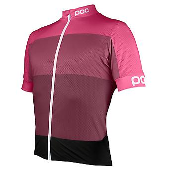 POC Sulfate Multi Pink 2016 Fondo Light Short Sleeved Cycling Jersey