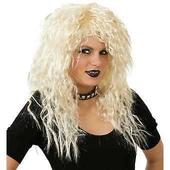 Gina blond Langhaar Rockerbraut Locken