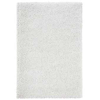 Design high pile carpet boutique cream white mix