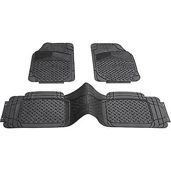 車の床マット (普遍的な) 普遍的な PVC ブラック DIN