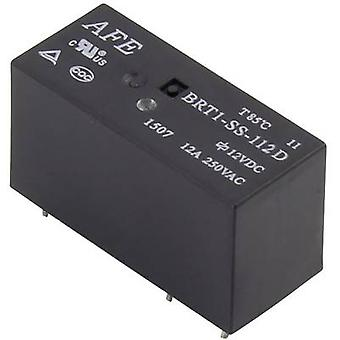 AFE BRT1-SS-112D PCB relay 12 Vdc 12 A 1 change-over 1 pc(s)