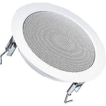 PA recessed speaker Visaton DL 18/2 70 W 100 V Whi