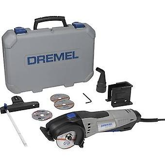 Mini circular saw incl. accessories, incl. case 8-piece 710 W Dremel DSM 20-3/4