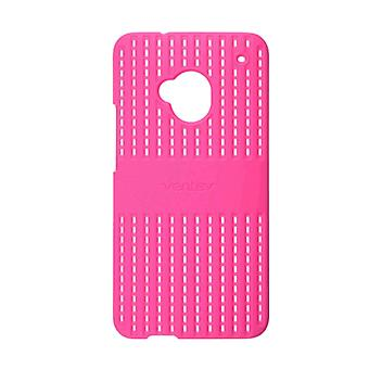 5 Pack -Ventev Colorclick Air Case for HTC One - Pink