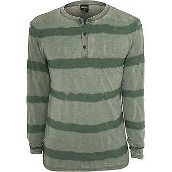 Urban classics men's sweatshirt fantasy stripe Burnout L / S Henley