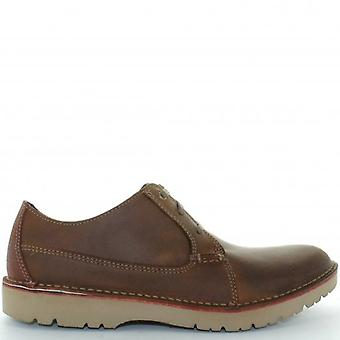 Clarks CLA Vargo Pl Dark Brown  G 060