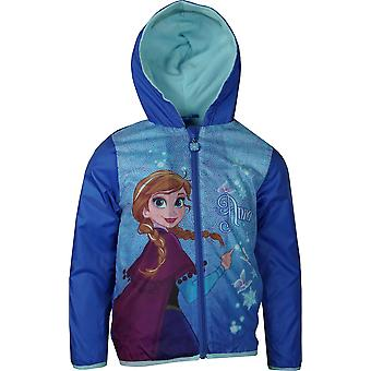 Flickor RH1507 Disney Frozen Lightweight Hooded Jacket med Bag storlek: 4-8 år