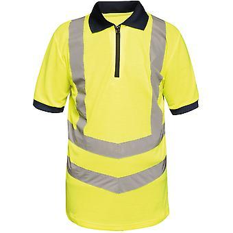 Regatta Mens Hi Vis Pro Quick Dry Wicking Work Polo Shirt