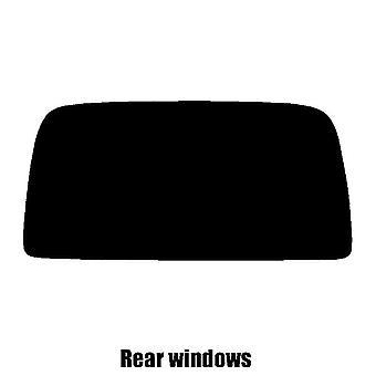 Предварительно вырезать окна оттенок - Renault Kangoo Ван (хетчбэк загрузки) - 1998-2006 - задние окна