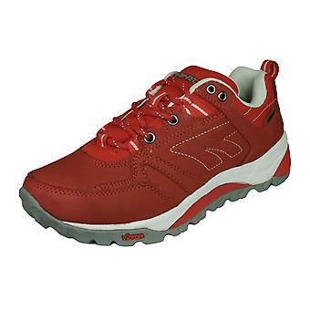 Hi Tec V Lite Sphike Nijmegen Low Womens Walking / Trail Trainers - Red