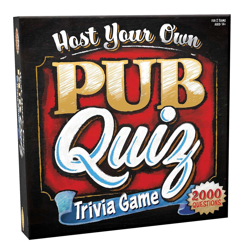 Host Your Own Pub Quiz Trivia Game
