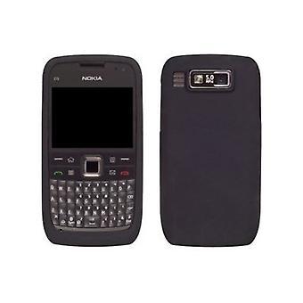 Pack 5 - Solutions sans fil Gel étui en Silicone pour Nokia E73 - noir