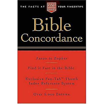 Pocket Bible Concordance - Nelson's Pocket Reference Series by Thomas