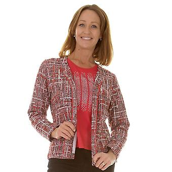 Rabe Jacket Set 41 121262 Red