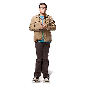 Dr Leonard Hofstadter Lifesize Cardboard Cutout / Standee (The Big Bang Theory)