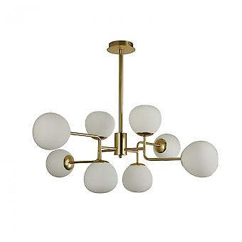 Maytoni Lighting Erich Modern Chandelier , Cream Gold