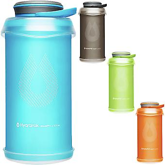 HydraPak Stash 1L Collapsible Lightweight Compact Water Bottle