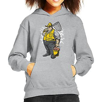 Vet visser Kid de Hooded Sweatshirt