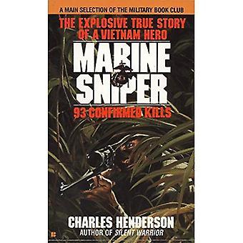 Sniper marinho: 93 mortes confirmadas