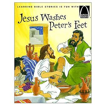Jesus Washes Peters Feet: The Story of Jesus Washing the Disciples Feet