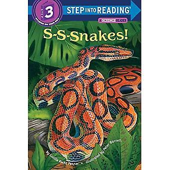 S-S-Schlangen! (Einzelschritt - Level 3 - Taschenbuch zu lesen)