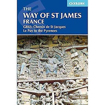 Le chemin de St James - Le Puy aux Pyrénées: GR65: le Chemin de Saint Jacques