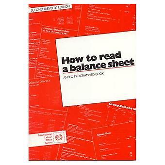 How to Read a Balance Sheet: An ILO Programmed Book