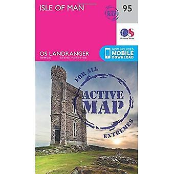 Isle of Man (OS Landranger� Map)