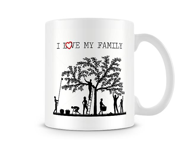 I Love My Family  Mug