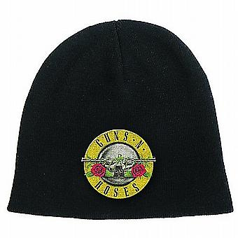 Guns N Roses (black) woven beanie hat - official product    (ro)