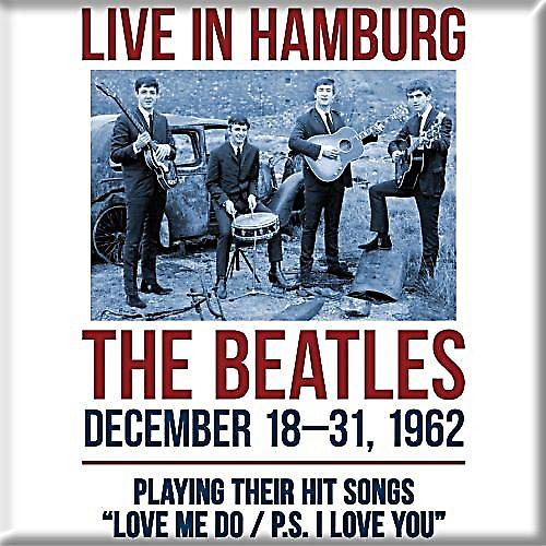 Beatles Live In Hamburg 1962 fridge magnet  (ro)