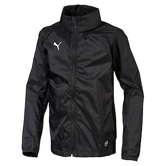 PUMA League training rain core kids rain jacket black