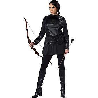 Warrior Huntress Red Adult Costume - 20209