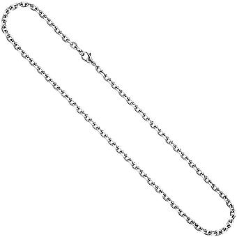 Stainless steel chain necklace chain stainless steel 70 cm necklace chain carabiner
