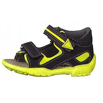 Ricosta Pepino Boys Manti Sandals Navy Neon