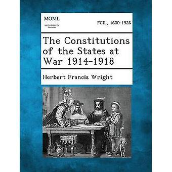 Konstitusjoner av USA i krig 19141918 ved Wright & Herbert Francis