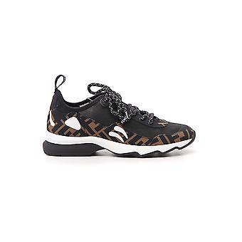 Fendi Black Rubber Sneakers