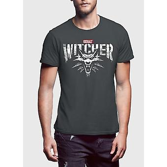 As mangas meia witcher t-shirt