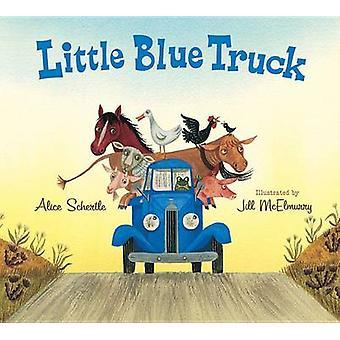 Little Blue Truck Lap Board Book by Alice Schertle - Jill McElmurry -
