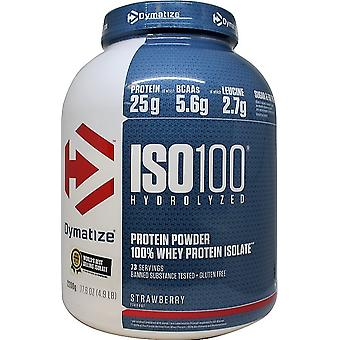 Dymatize ISO-100 Chocolate Peanut 2200 gr (Sport , Muscle mass , Proteins)