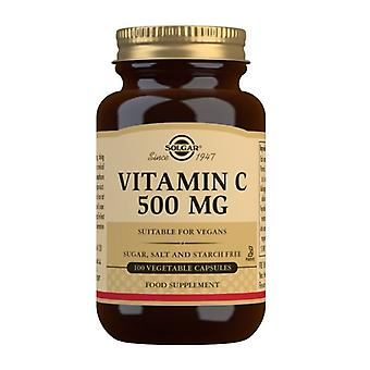 Solgar vitamin C 500mg Vegicaps 100 (3260)