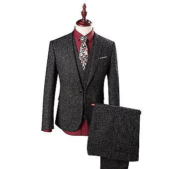 Allthemen Mens 3pcs Silm fit 3 Pieces Suit( Blazer &Vest &Pants )