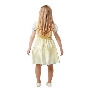Girls Age 3 - 8 Years Goldilocks Costume World Book Day Fancy Dress
