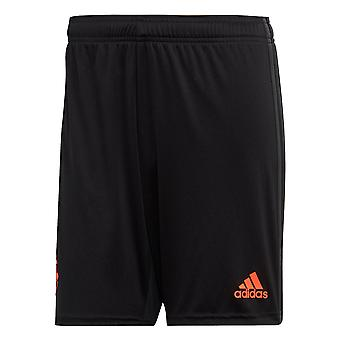 adidas Manchester United 2019/20 Mens Third Football Short Black