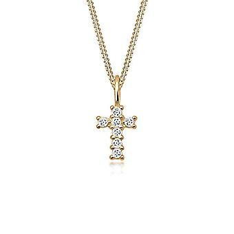 Elli PREMIUM Gold-yellow Women's pendant necklace - 0108290817_45