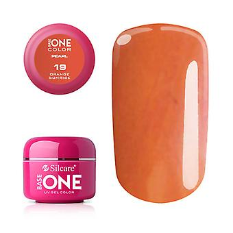 Base one-Pearl-Orange sunrise 5 g UV-gel