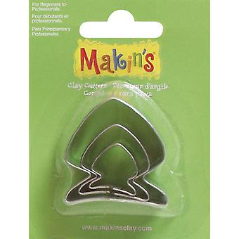 Makin's Clay Cutters 3 Pkg Fish M360 14