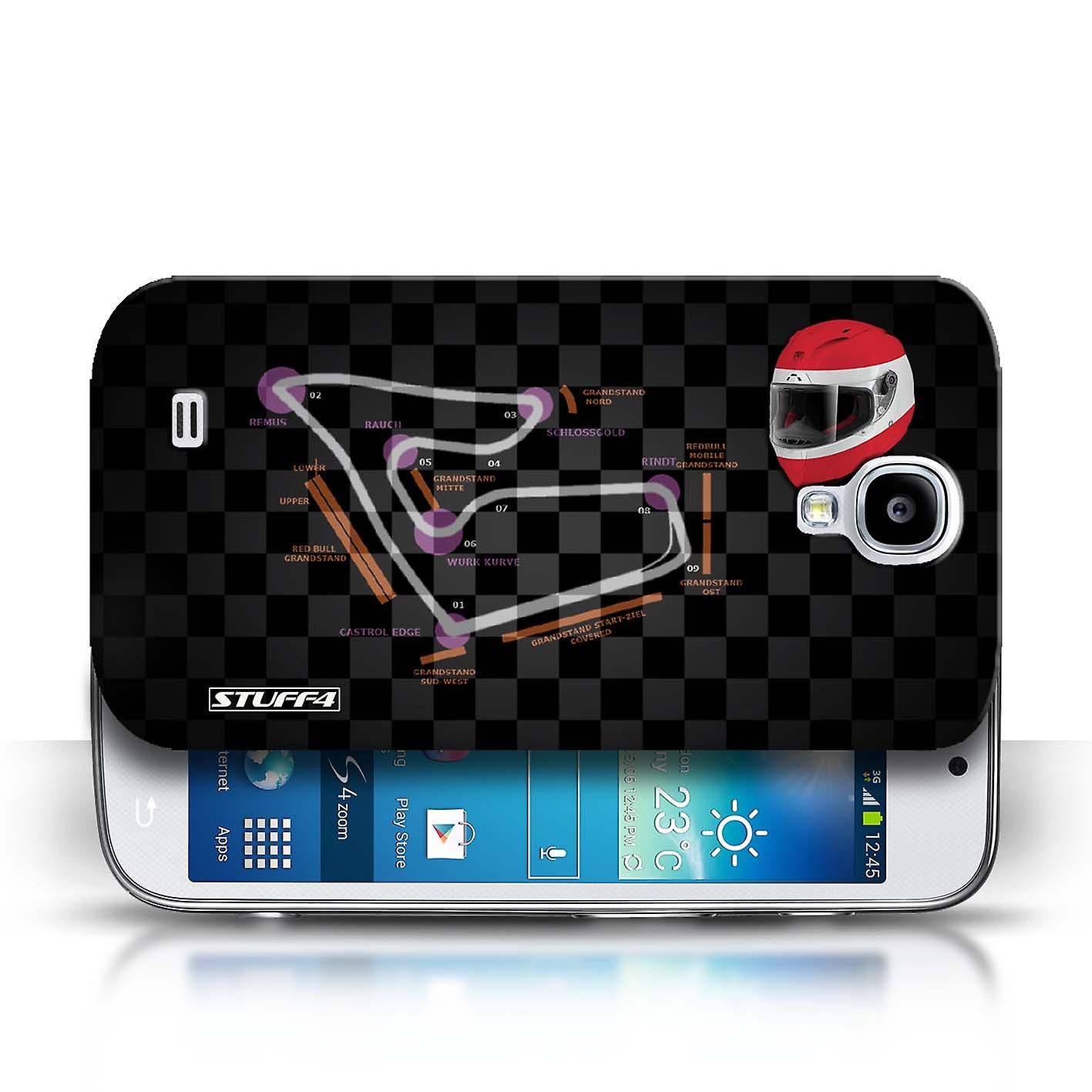 stuff4 case cover for samsung galaxy s4 siv austria spielberg 2014 f1 track fruugo. Black Bedroom Furniture Sets. Home Design Ideas